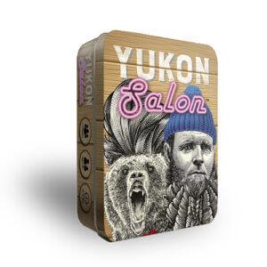 yukon salon card board game tin