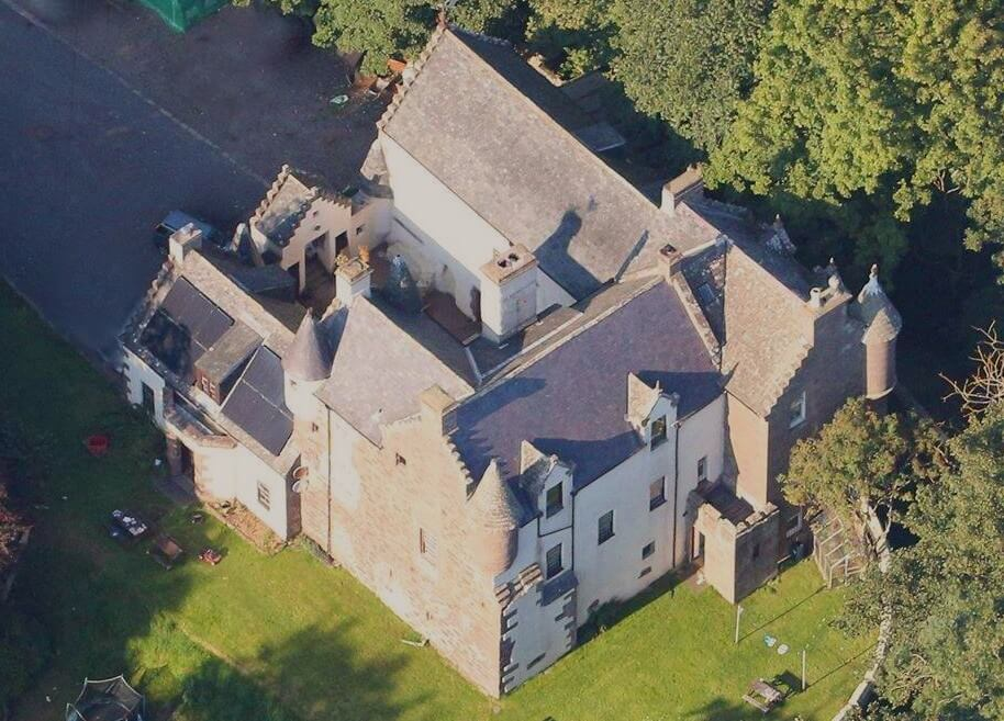 Castle Halgreen from the sky