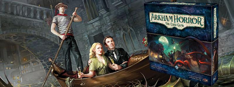 arkham horror cooperative card game fantasy flight games