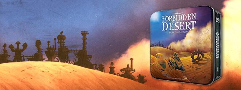 forbidden desert board game from gamewright