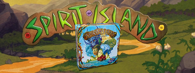 spirit island cooperative board game by greater than games