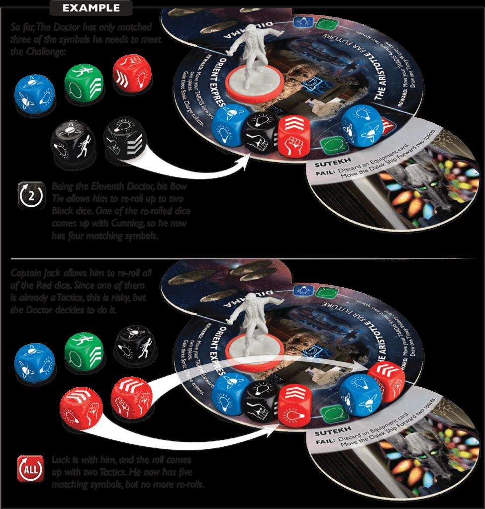 time of the daleks dice diagram