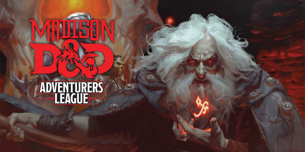 adventurers league madison dungeons and dragons dnd d&d