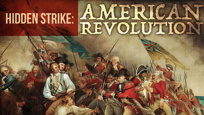 hidden strike: american revolution board game war game wargame