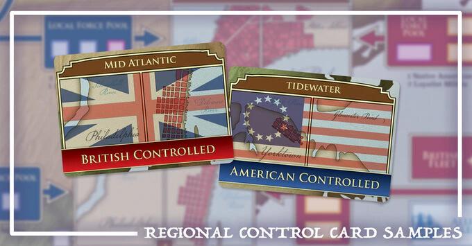 hidden strike american revolution regional control cards