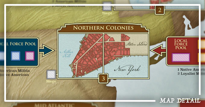 map detail northern colonies