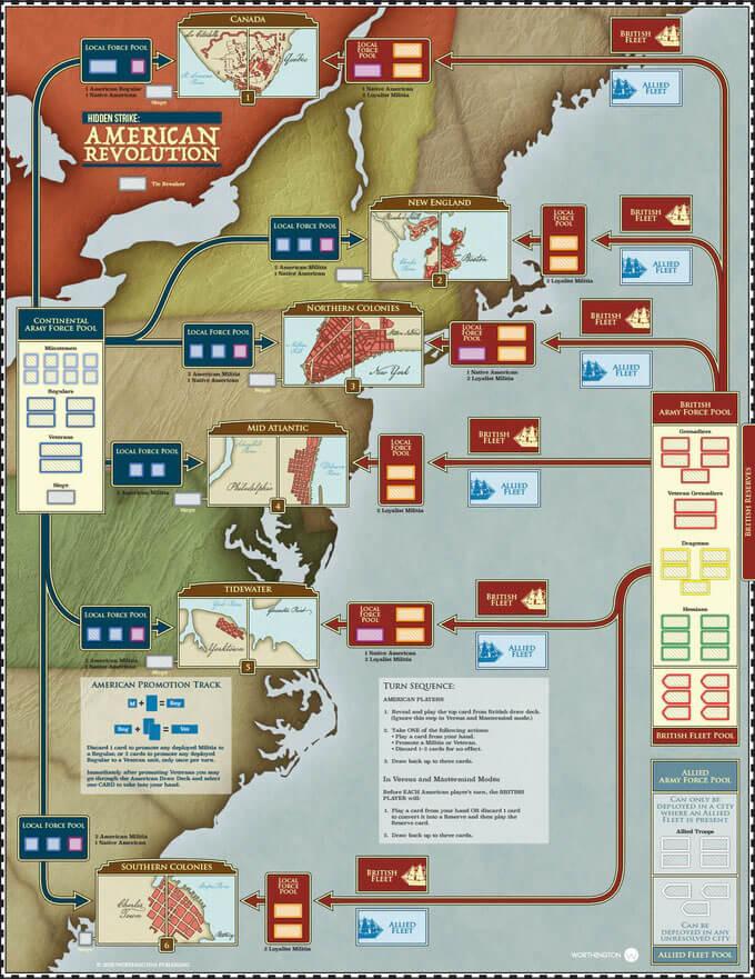hidden strike american revolution map
