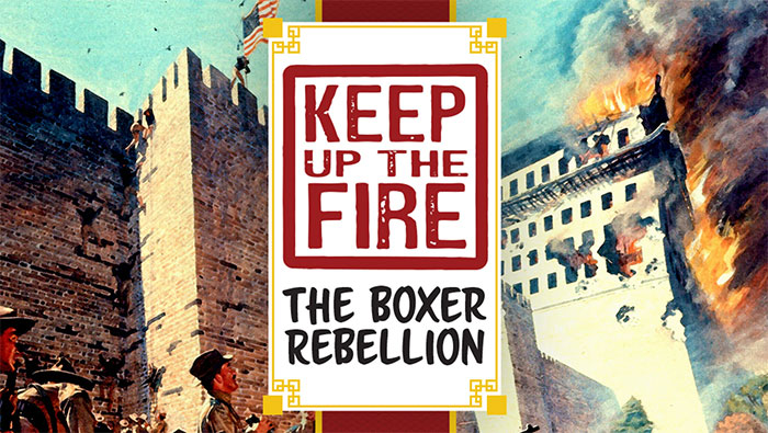keep up the fire boxer rebellion art