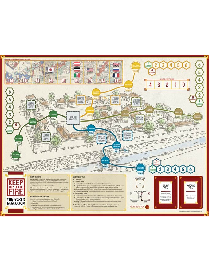 keep up the fire legation map