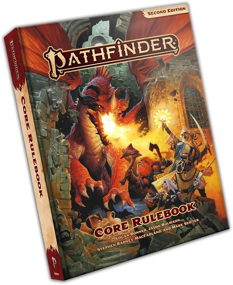 Image of The Pathfinder Core Rulebook by Paizo Publishing
