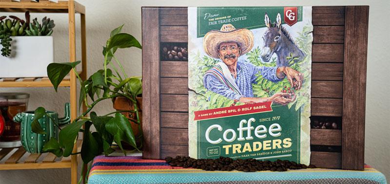 coffee traders board game box