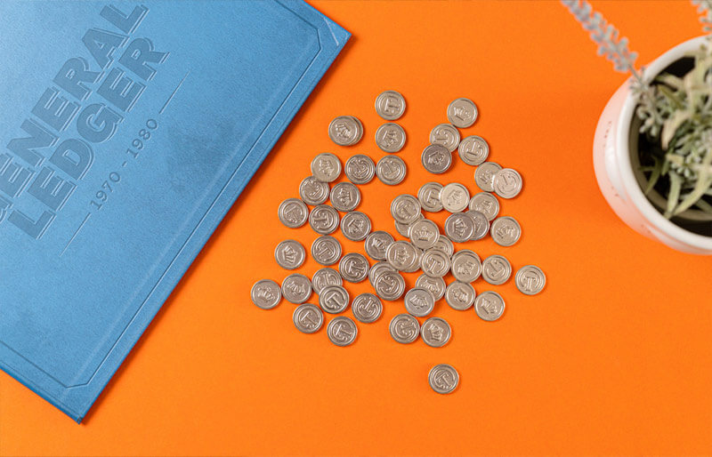 coffee traders board game coins ledger