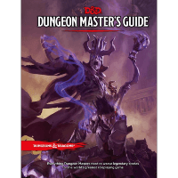 Book cover of the Dungeon Master's Guide for Dungeons and Dragons Role Playing Game 5th Edition