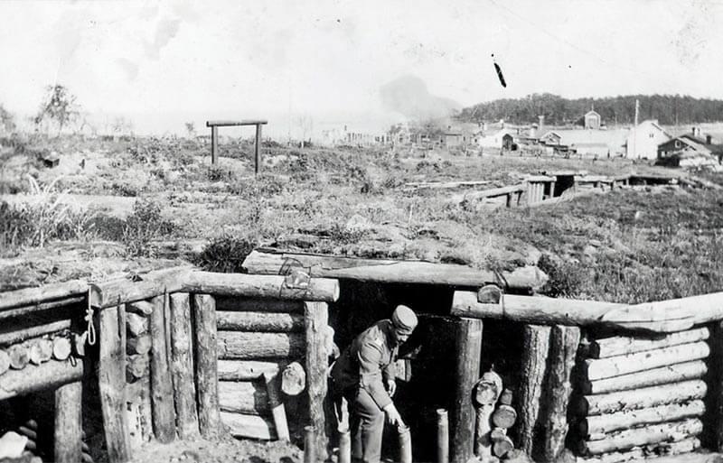 suursaari island soldiers