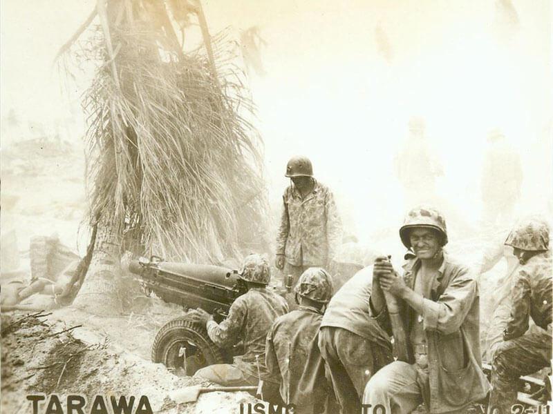 tarawa 1943 soldiers in combat