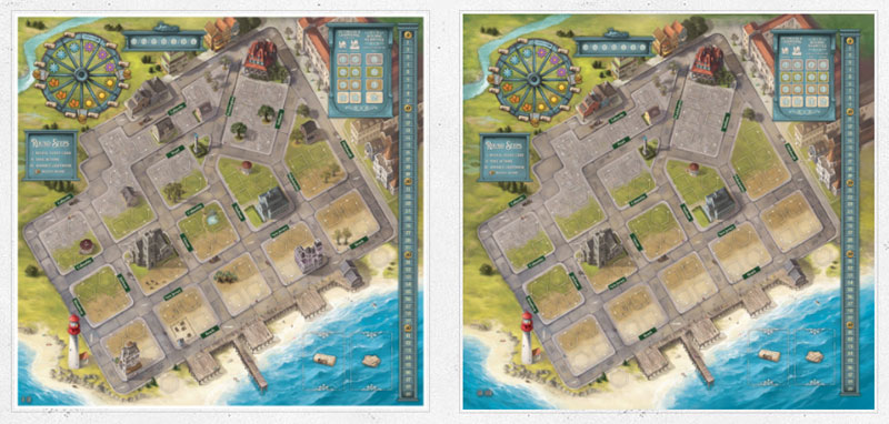 cape may by thunderworks games game board