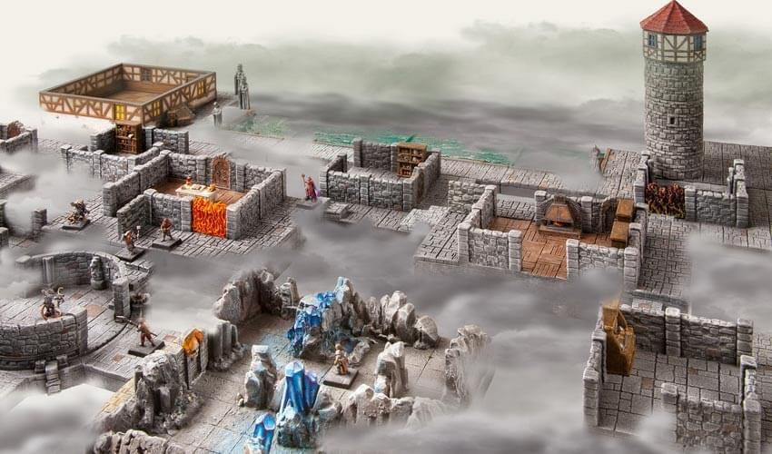 dark city dungeon saver set modular terrain