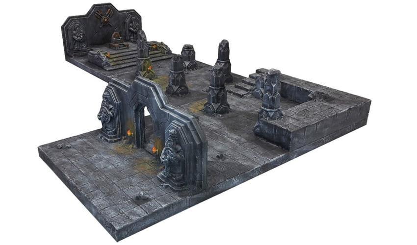 ziterdes terrain dunkelwelt 4 pack modular