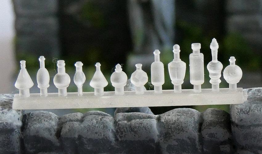 glass bottle miniature accessory accessories flask