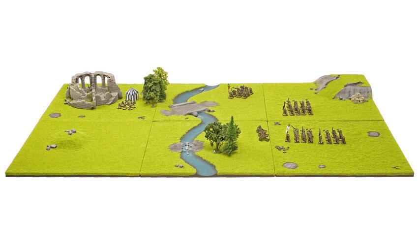 modular gaming table wargame war game static grass