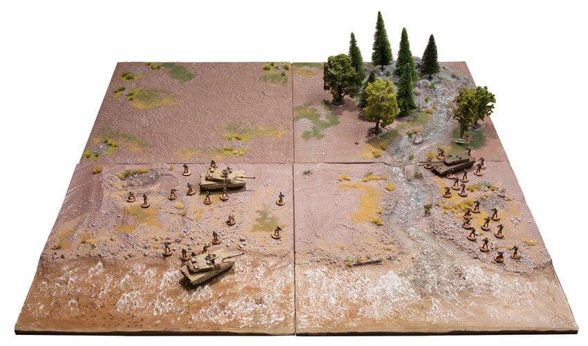 modular gaming table terrain wargame