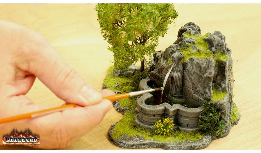 rock well starter miniature terrain