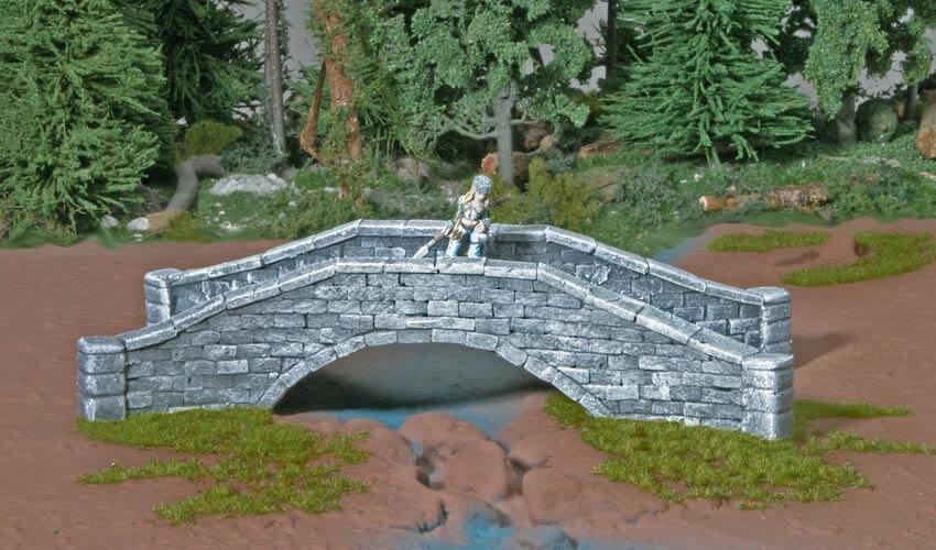 stone bridge terrain miniature