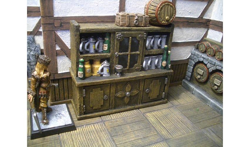 tavern cabinet miniature