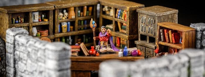 bookshelves wizard