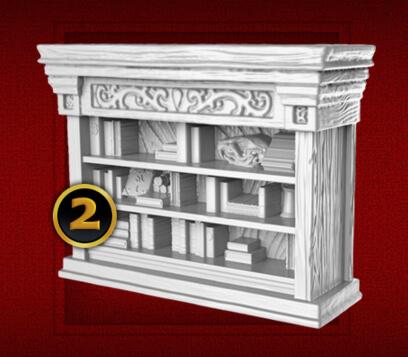 heroquest bookcase