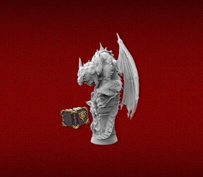 heroquest dragon