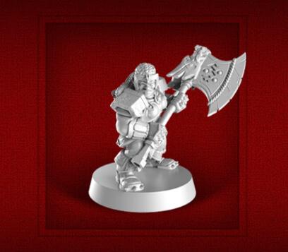 new heroquest female dwarf