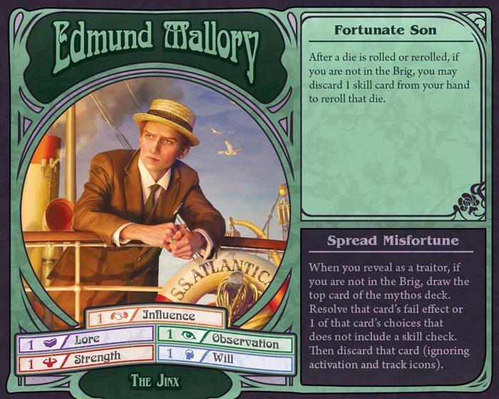 unfathomable by fantasy flight edmund mallory