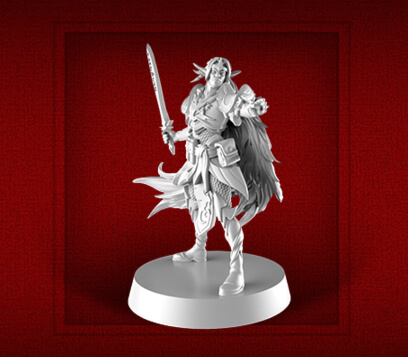 new heroquest male elf