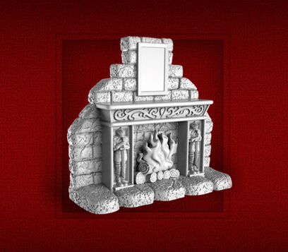 new heroquest fireplace