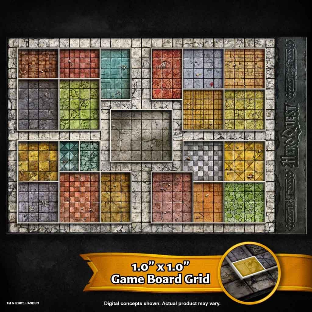 heroquest gameboard game board