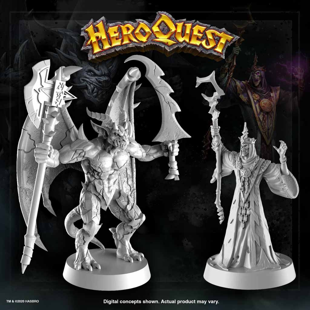heroquest gargoyle dread sorcerer