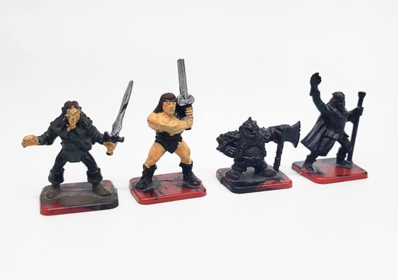 heroquest character miniatures