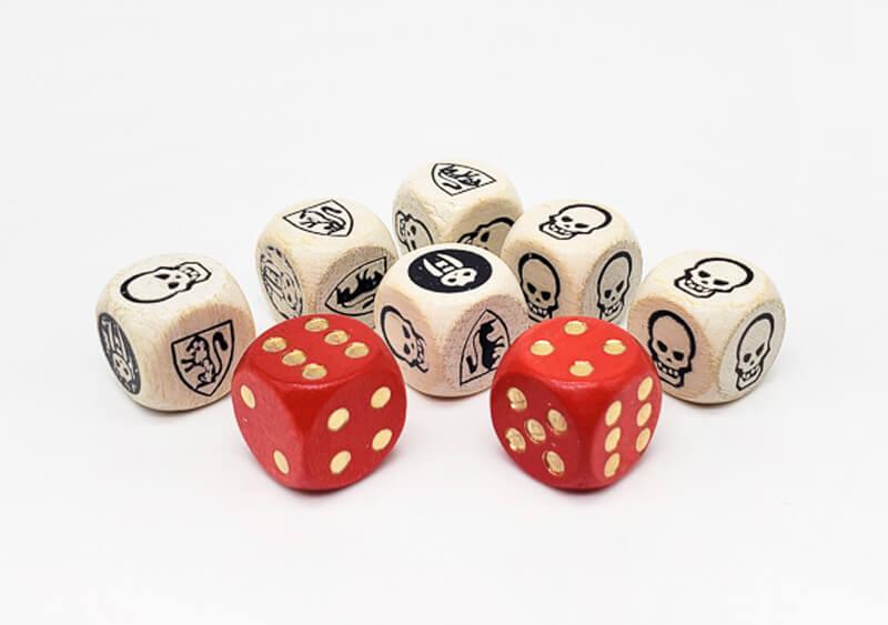 heroquest movement dice combat
