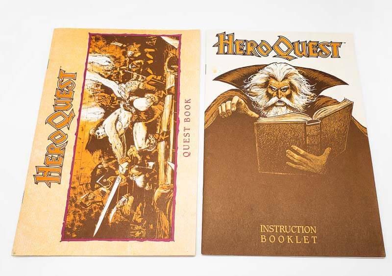 heroquest quest book instruction booklet