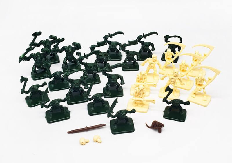 heroquest miniatures monsters