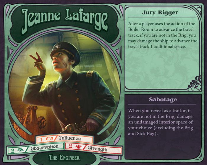 unfathomable by fantasy flight jeanne lafarge