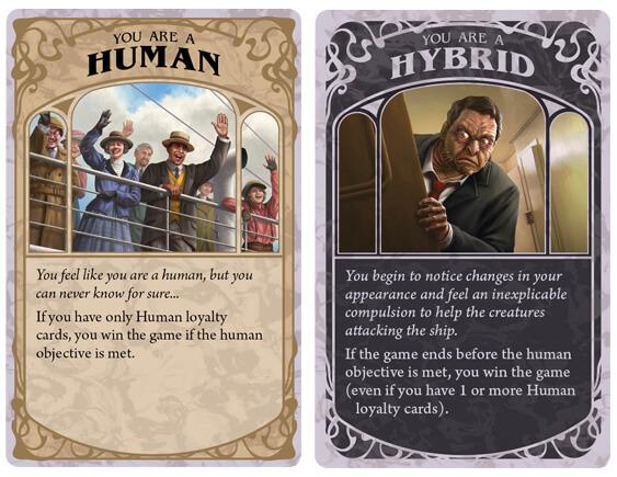loyalty card human hybrid dark one