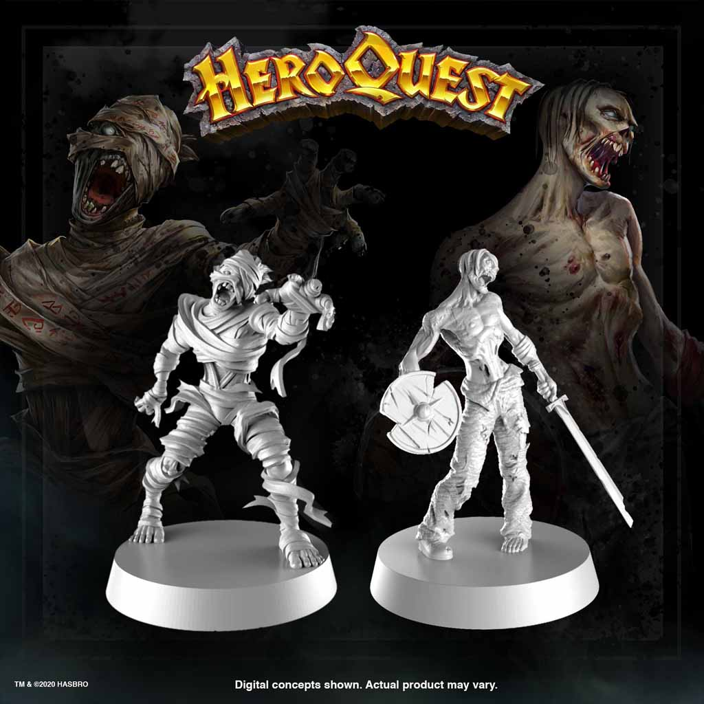 heroquest mummy zombie