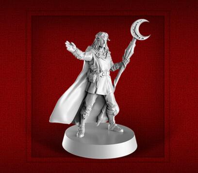 new heroquest male wizard