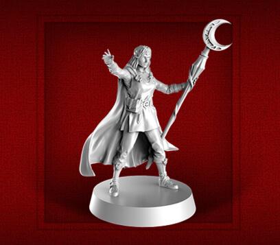 new heroquest female wizard